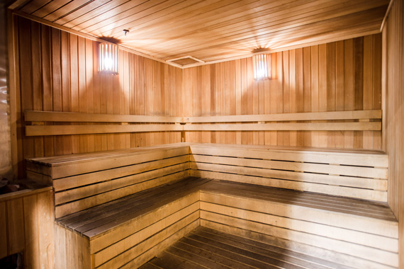 Celebrity Fitness Indonesia Club Feature Sauna