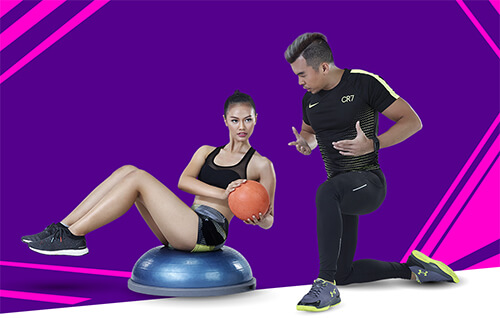 Celebrity Fitness Indonesia VIP Training