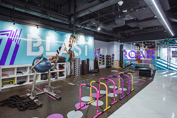 Celebrity Fitness Indonesia Club Feature Playground