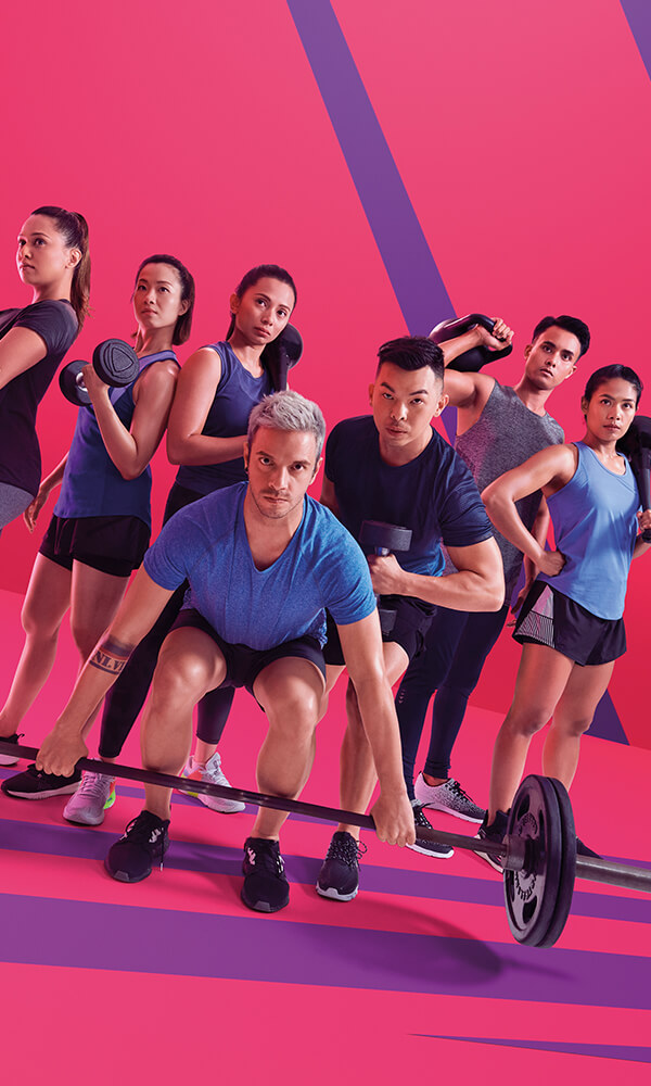 Celebrity Fitness Indonesia Fearless Together